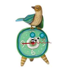 NWOB Spring Tweets Bird Desk Clock